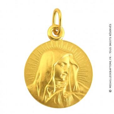 Médaille Mater Dolorosa (Or Jaune)