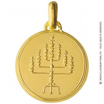 Médaille Menorah - Monnaie de Paris