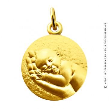 Médaille Mon tout Petit Bébé Martineau (Or Jaune)