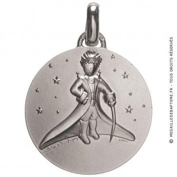 Médaille Petit Prince dans les étoiles (Argent)