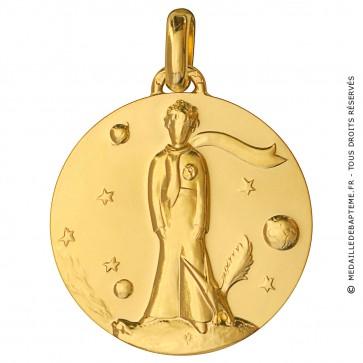 Médaille Petit Prince (Or Jaune)