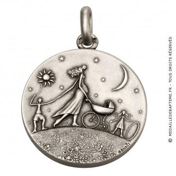 Médaille Ronde de la vie (Argent)