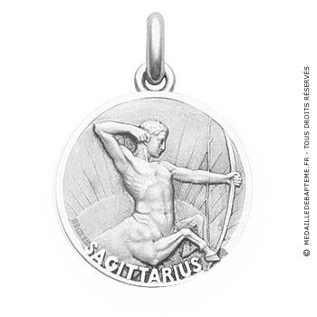 Médaille Zodiaque Sagittaire BECKER ( argent)