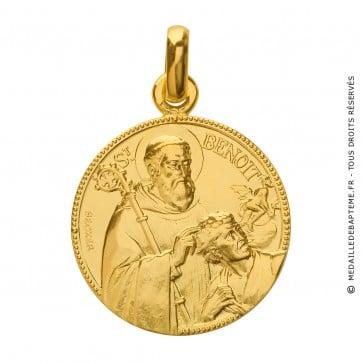 Médaille Saint Benoit (Or Jaune) - La Monnaie de Paris