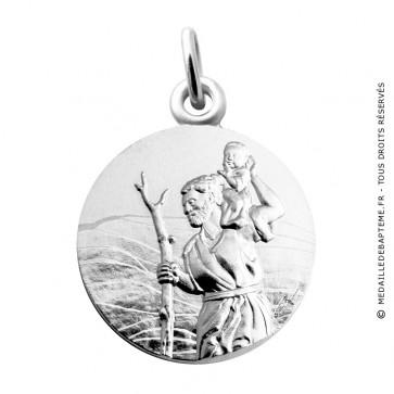 Médaille Saint Christophe (Argent) Martineau
