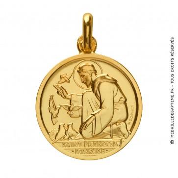 Médaille Saint Francois d' Assise - Monnaie de Paris