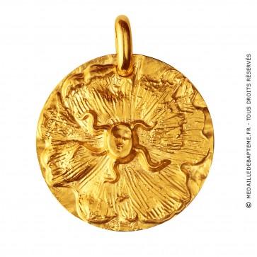 Médaille Sceau de Dali (Or Jaune)