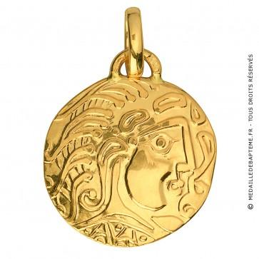 Médaille Tete Gauloise (Or Jaune) - La Monnaie de Paris