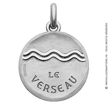 Médaille Zodiaque stylisé Verseau BECKER ( argent