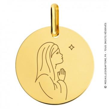 Médaille Vierge à l'Etoile