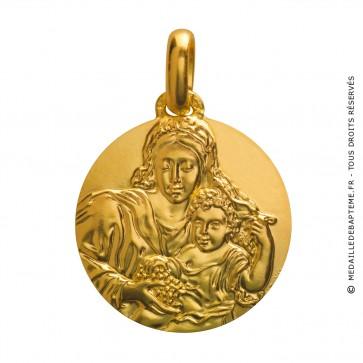 Médaille Vierge à la Grappe (Or Jaune)