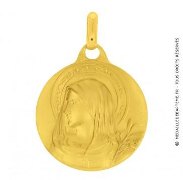 Médaille Vierge au Lys (Or Jaune)
