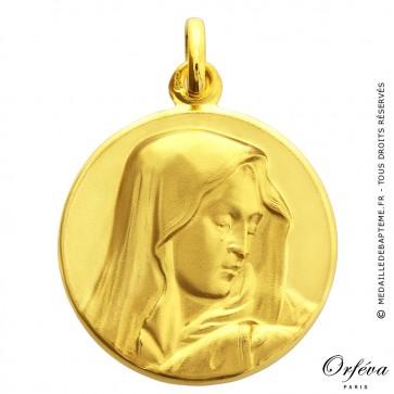 Médaille Vierge au pouce