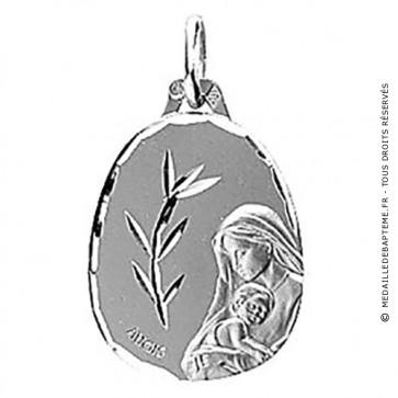 Médaille Vierge au rameau