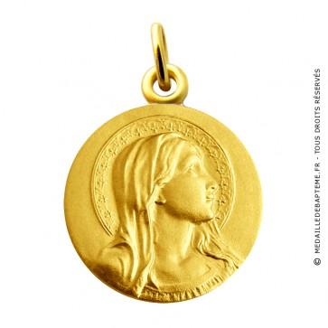 Médaille Vierge Auréolée Martineau (Or Jaune)