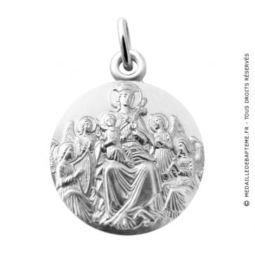 medaille-vierge-aux-anges-argent