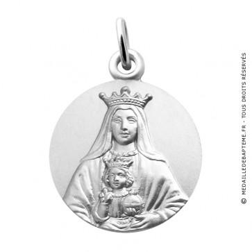 Médaille Vierge Notre Dame Couronnée de Coromoto (Argent)