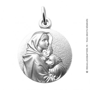 Médaille Vierge à l'Enfant de Ferruzi Martineau (Argent)
