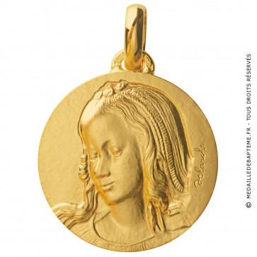 Médaille Vierge de Saint-Galmier (Or Jaune)