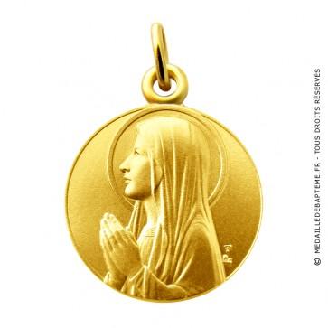Médaille Ave Maria Martineau (Or Jaune)