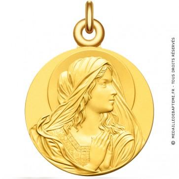 Médaille Vierge en prière