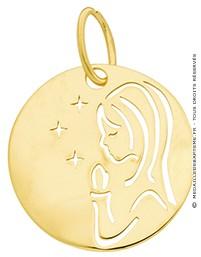 Médaille Vierge Etoilée