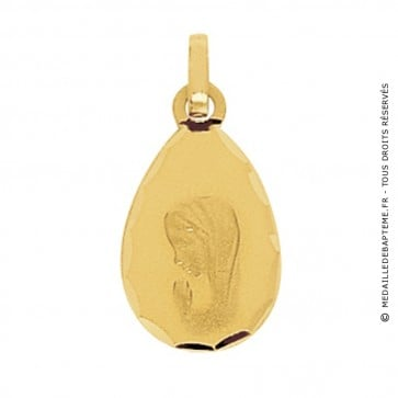 Médaille Vierge Goutte