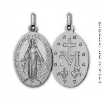 Médaille Vierge miraculeuse (argent)