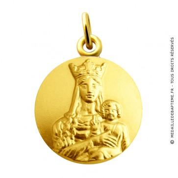 Médaille Vierge Notre Dame de bonne espérance Martineau (or jaune)