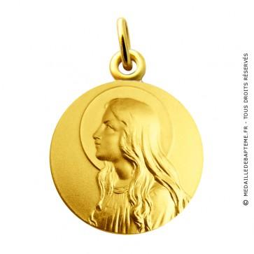 Médaille Vierge Virgo Infans Martineau (Or Jaune)