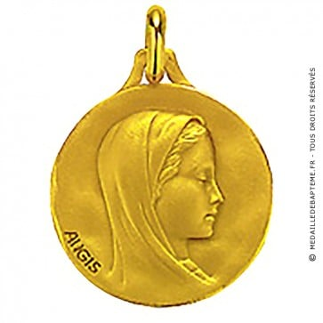 Médaille Augis Vierge