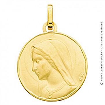 Medaille Vierge Priante (or jaune)
