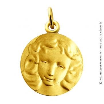Médaille Visage d'Ange Martineau (Or Jaune)