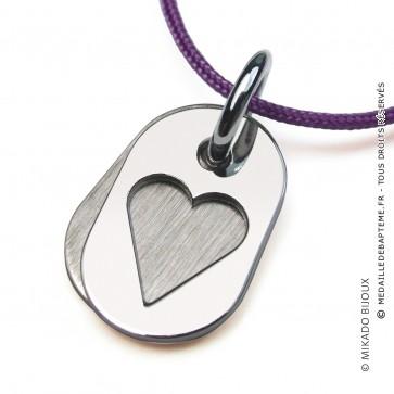 Pendentif Coeur Corazon (Argent)
