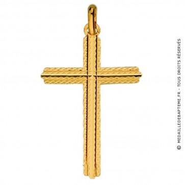 Pendentif Croix Diamantée