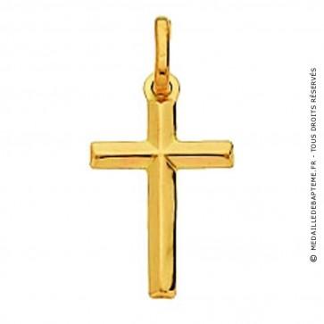 Pendentif Croix Fil Rond