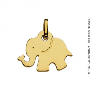 Pendentif Enfant Elephant