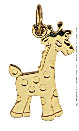 Pendentif Girafe (Or Jaune)