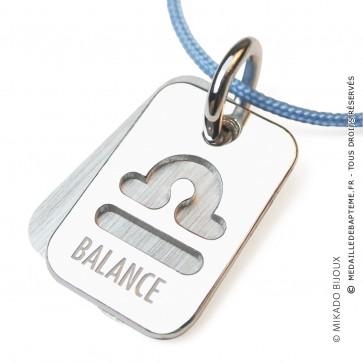 Pendentif SIGNS Balance (Argent)