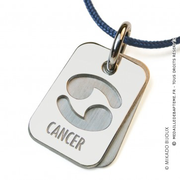 Pendentif SIGNS Cancer (Argent)