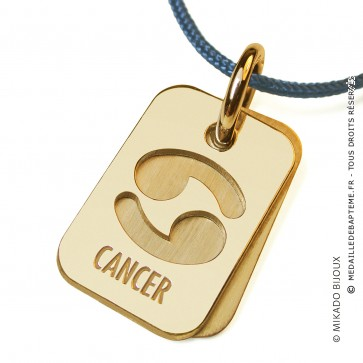 Pendentif SIGNS Cancer (Or Jaune)
