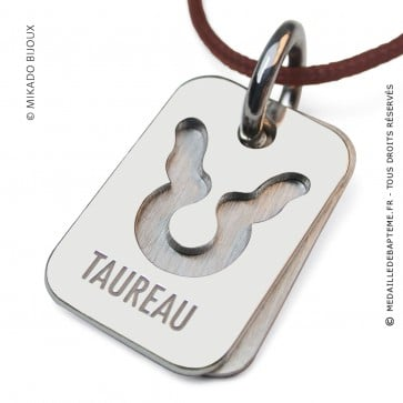 Pendentif SIGNS Taureau (Argent)