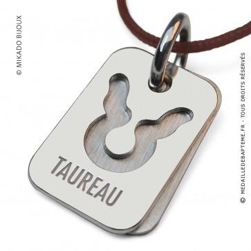Pendentif SIGNS Taureau (Or Blanc)