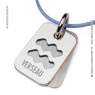 Pendentif SIGNS Verseau (Argent)
