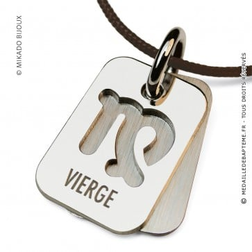 Pendentif SIGNS Vierge (Argent)
