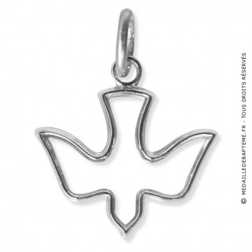 Pendentif colombe (Argent) Martineau