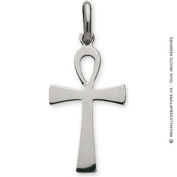 Pendentif Croix Egyptienne (Argent)