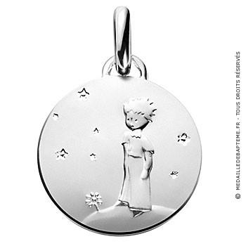 Médaille Petit Prince sur sa planète (Argent)
