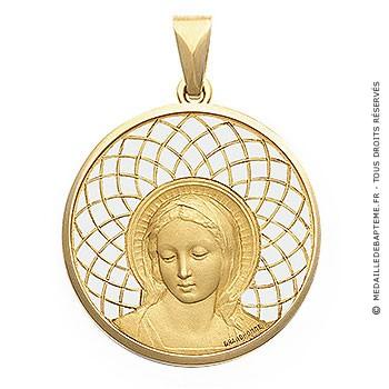 Médaille Vierge Amabilis  - medaillle bapteme Becker