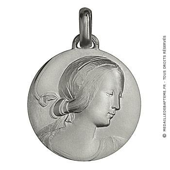 Médaille Vierge de Milan (Argent)